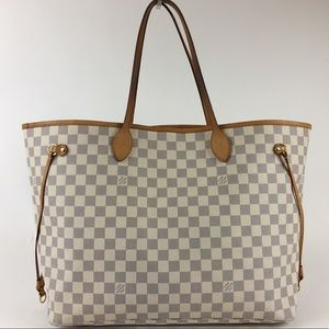 Louis Vuitton Damier Azur Neverfull Tote GM